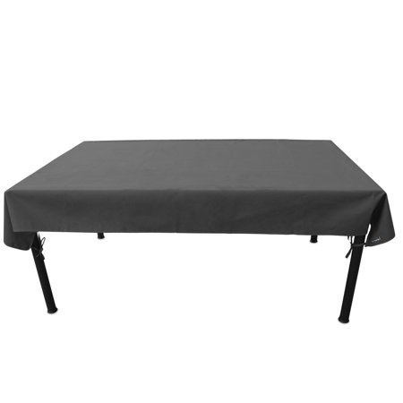Duraviva Outdoor Patio Table Weatherproof Cover - Waterproof, Easy to Install - Fits Rectangular/Oval Tables within 55 x 85 inches ()