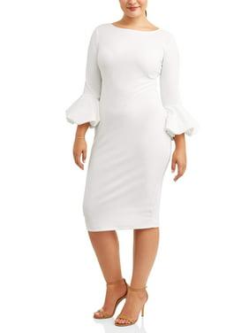 Product Image Women's Plus Size Bubble Sleeve Dress