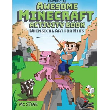 Awesome Minecraft Activity Book : Whimsical Art for Kids](Halloween Art Activities For 5th Class)