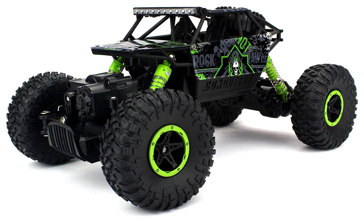 Velocity Toys Rock Crawler Remote Control RC High Performance Truck 2.4 GHz Control System... by Velocity Toys