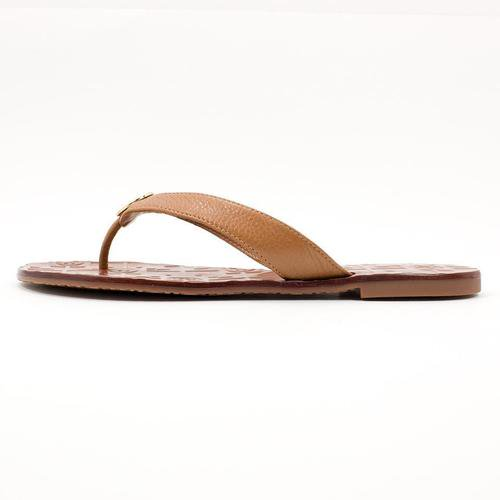 93cb1a83129c Tory Burch - NEW WOMENS TORY BURCH THORA THONG FLAT TUMBLED LEATHER ...