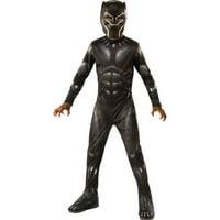 MARVEL: BLACK PANTHER MOVIE BOYS BLACK PANTHER COSTUME-8-10