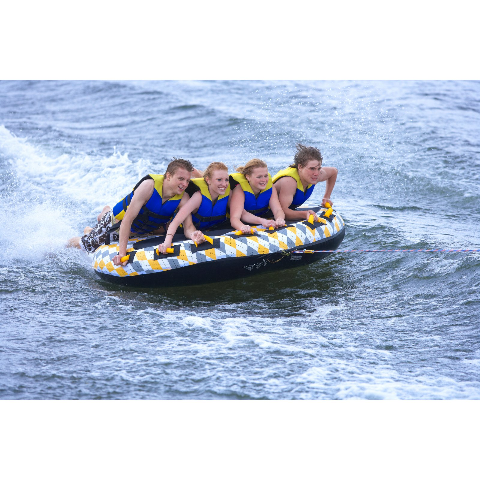 Rave Sports Mass Frantic 4-Person Tube by Rave Sports