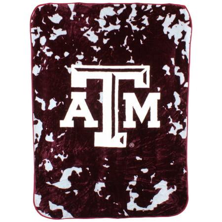 Texas A&m Blanket (College Covers Texas A&M Aggies 63 x 86 Raschel Throw)