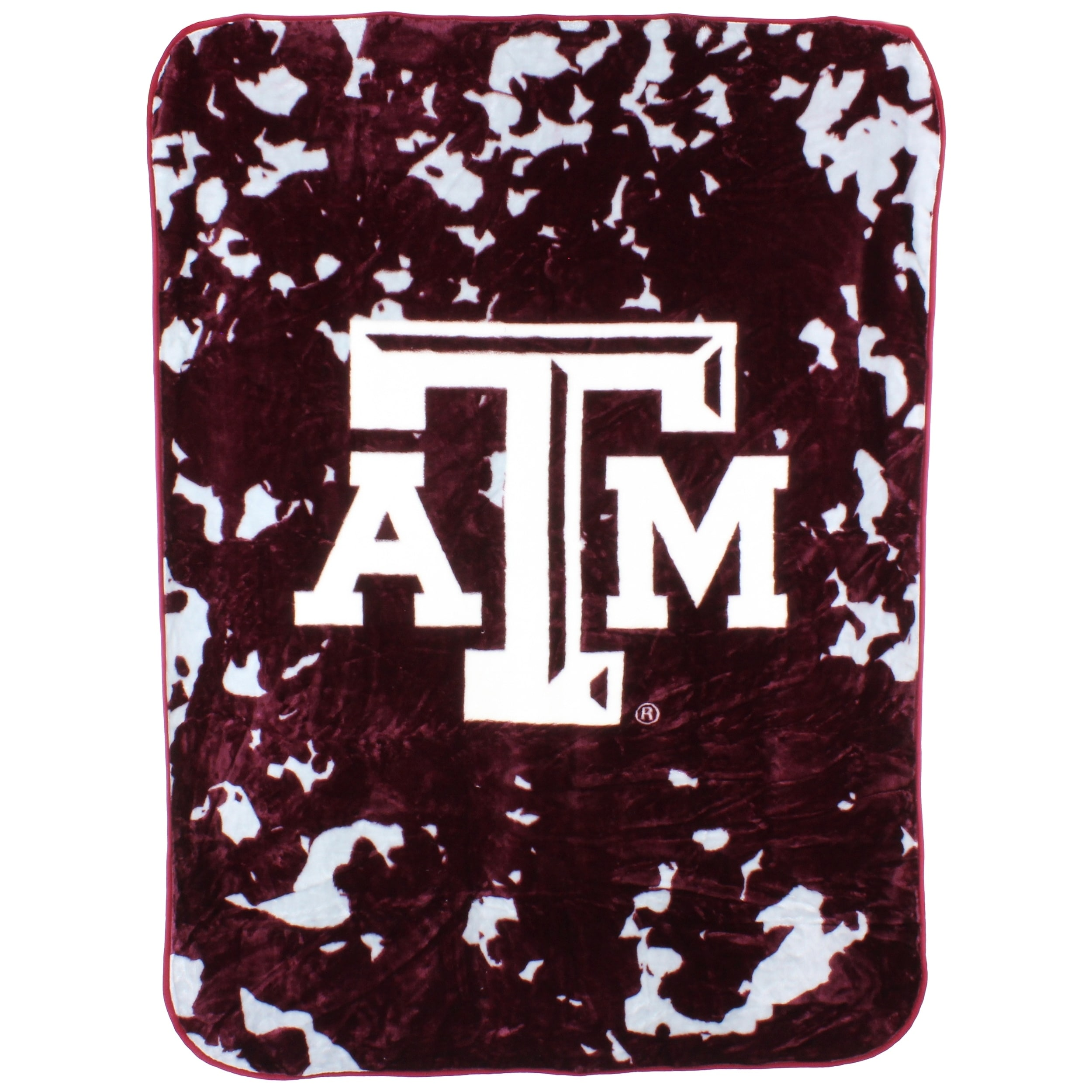 College Covers Texas A&M Aggies 63 x 86 Raschel Throw Blanket