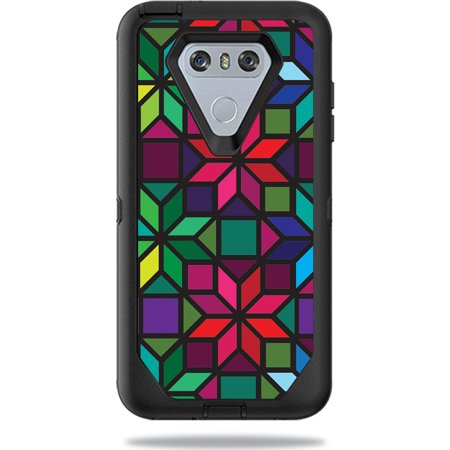 Skin For Otterbox Defender Lg G6 Case   Stained Glass Window   Mightyskins Protective  Durable  And Unique Vinyl Decal Wrap Cover   Easy To Apply  Remove  And Change Styles   Made In The Usa