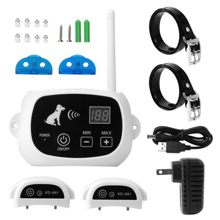 - Rechargeable Wireless 1/2/3/3+ Dog Fence Training System