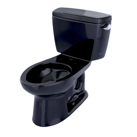 TOTO® Drake® Two-Piece Elongated 1.6 GPF Toilet with Right-Hand Trip Lever, Ebony -