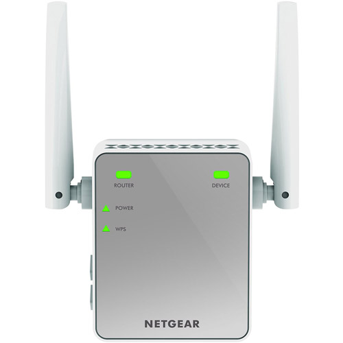 NETGEAR N300 WiFi Range Extender, Wall-Plug (EX2700) by NETGEAR