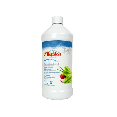 Alaska Naturals pH Up Alkaline Enhancing Crystals For Use With Hydroponic Systems 0-0-47; 2.0