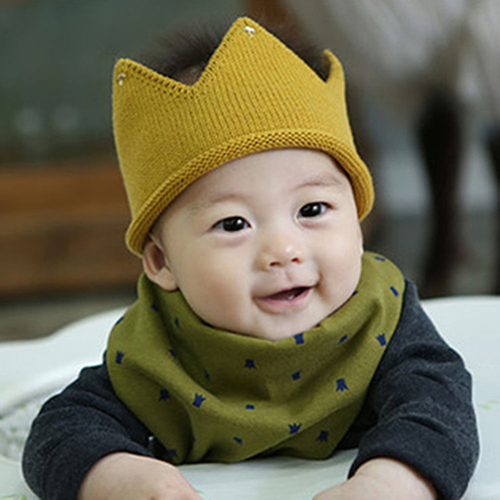 c2d9dc8a2 Heepo Newborn Toddler Baby Unisex Fashion Sweet Soft Knit Crown Hat Cap  Headwear