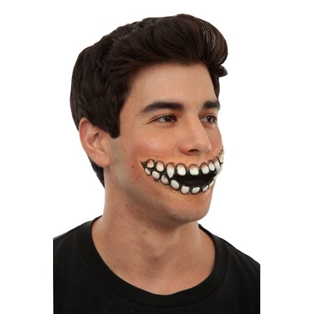 Creepy Grin Prosthetic - Creepy Ideas For Halloween