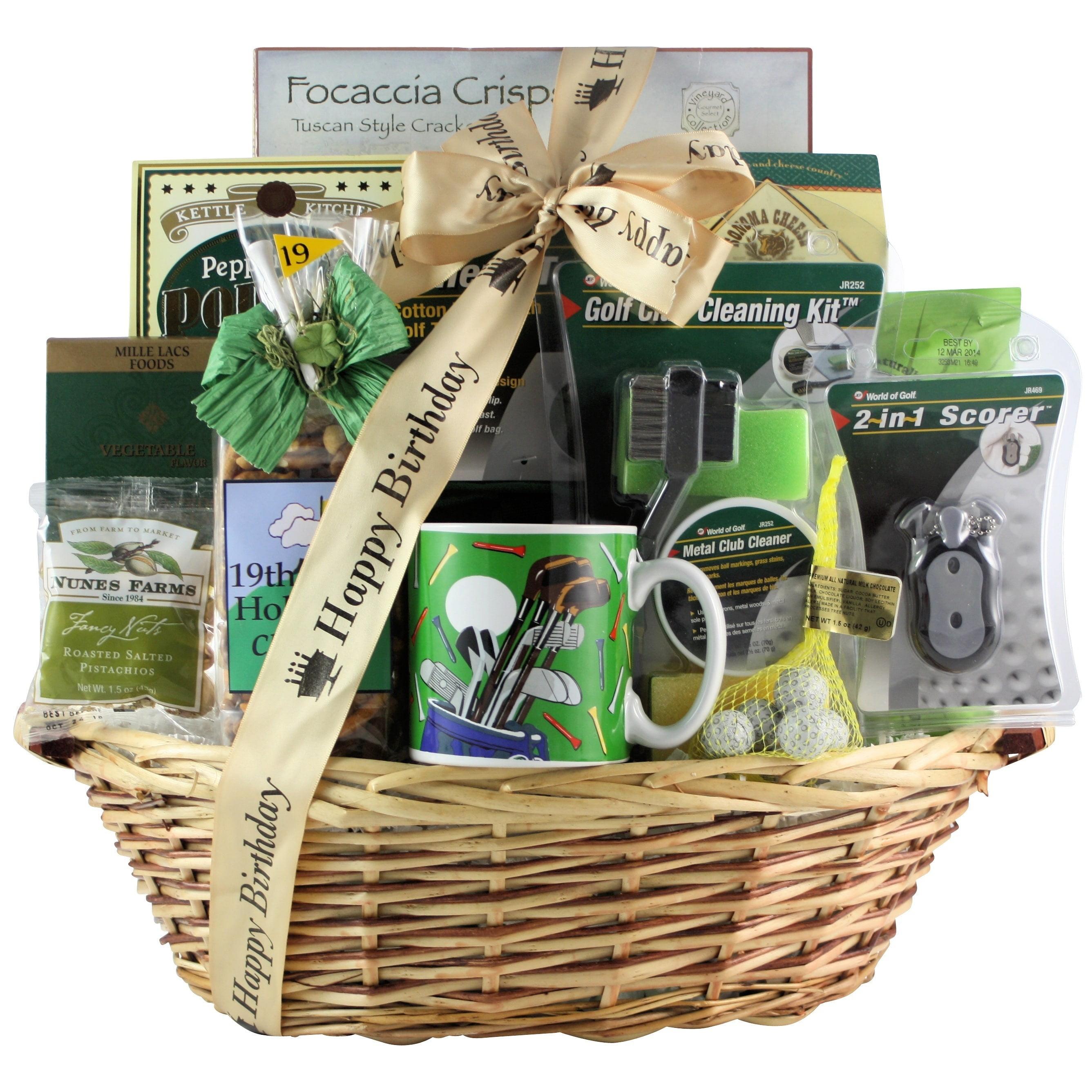 GreatArrivals Gift Baskets Golfers Delight Birthday Basket