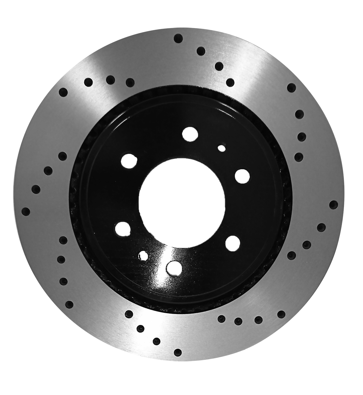 [Front E-Coat Drilled Brake Rotors Ceramic Pads] Fit 08-15 Chevrolet Tahoe - image 2 of 2
