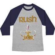 Rush Men's  Royalty Kings Baseball Jersey Heather