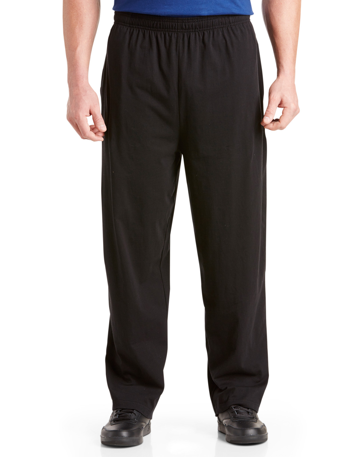 Men's Big & Tall Harbor Bay Open-Hemmed Jersey Pants