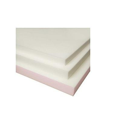 splendorest 3 inch slab memory foam topper twin size. Black Bedroom Furniture Sets. Home Design Ideas