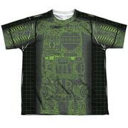 Astro Boy X Ray (Front Back Print) Big Boys Sublimation Shirt