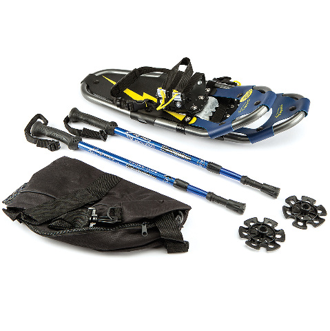 Lightweight Aluminum-Alloy Snowshoes for Kids by