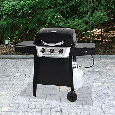 - Backyard Grill 3-Burner LP Gas Grill With Side Burner - Walmart.com