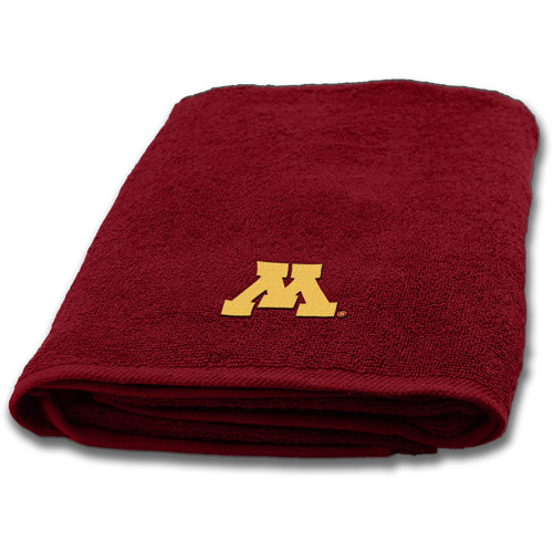 NCAA Applique Bath Towel, Minnesota