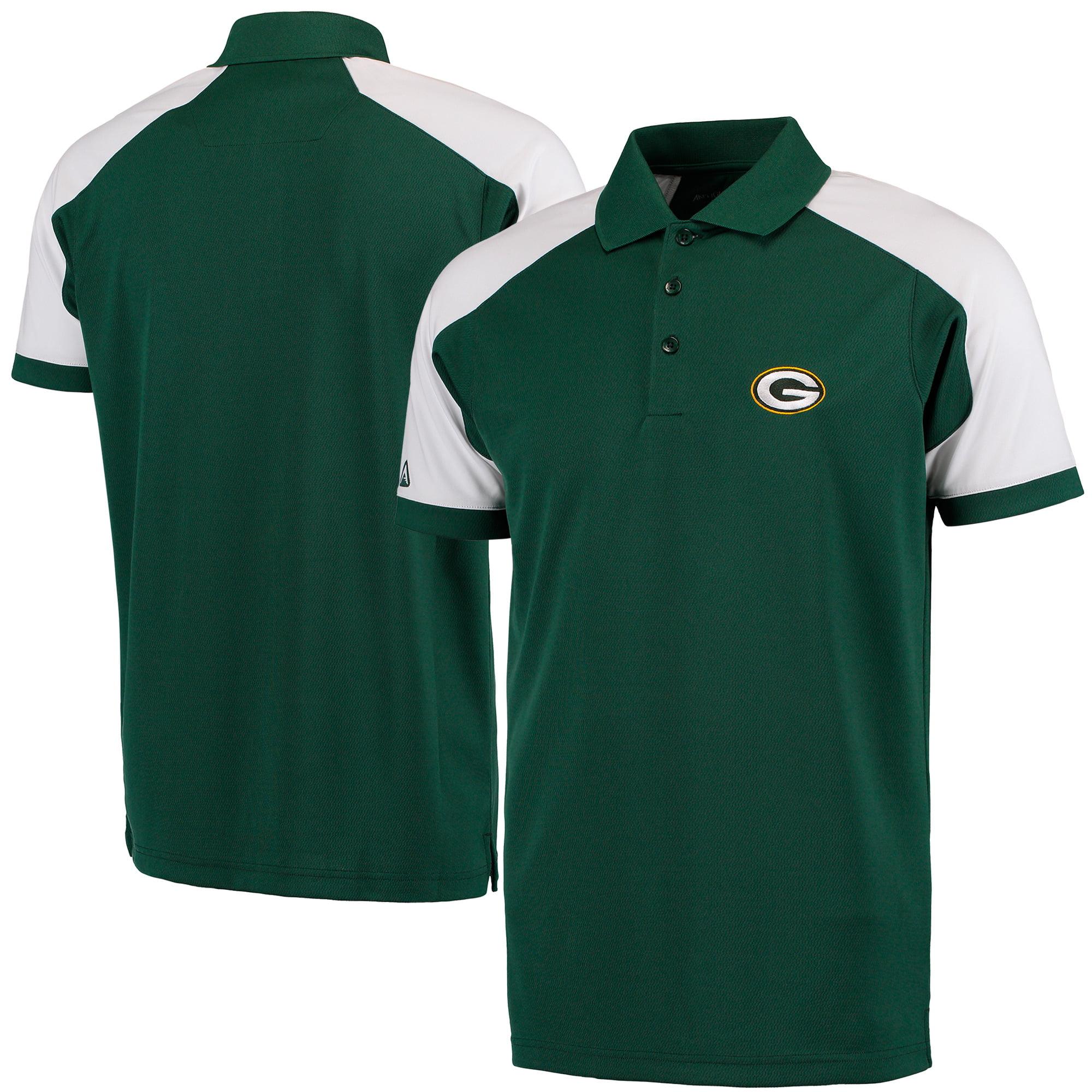 Green Bay Packers Antigua Century Polo - Green