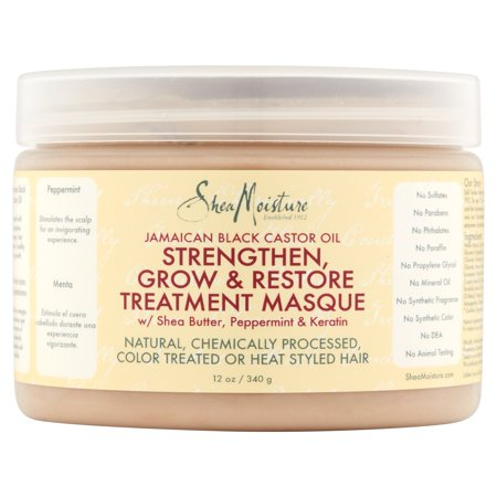Sheamoisture Jamaican Black Castor Oil Strengthen   Grow Leave In Conditioner  6 Fl Oz