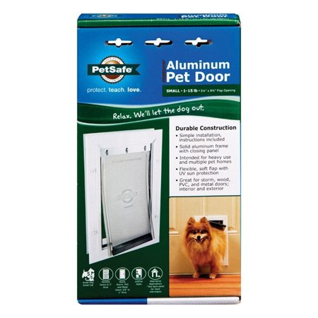 Freedom Aluminum Dog Door - Pet Safe PPA00-10859 5-1/8