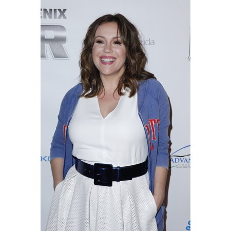 Alyssa Milano At Arrivals For 12Th Annual Super Bowl Leather And Laces Party - Fri The Bentley Projects Gallery Phoenix Az January 30 2015 Photo By MoraEverett Collection Celebrity - Party City Phoenix Az