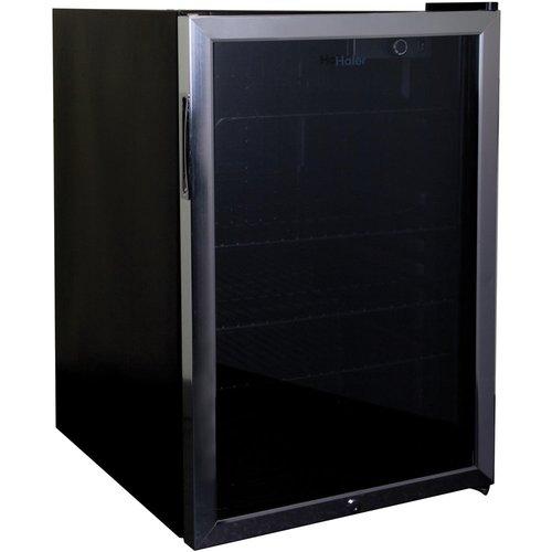 haier beverage cooler. haier 4.6 cu. ft. beverage center cooler