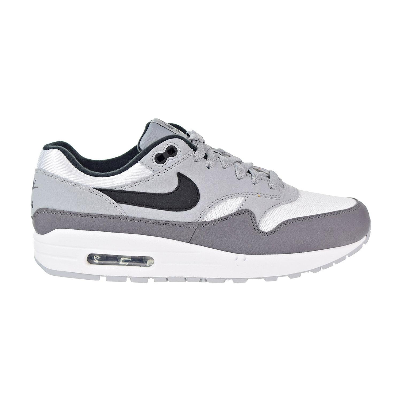 Nike - Nike Air Max 1 Men's Running Shoes White/Black Wolf Grey/Gunsmoke ah8145-101 - Walmart.com
