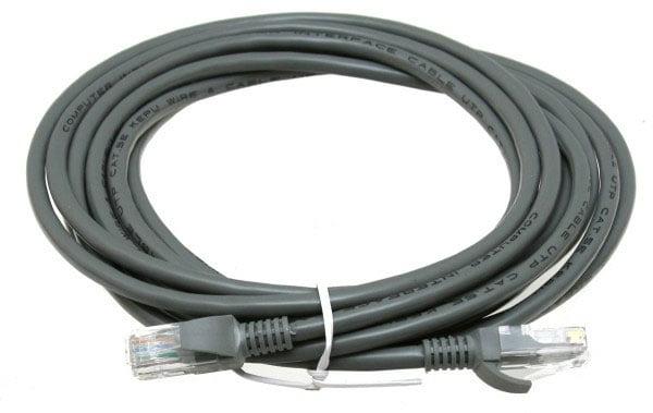 White UTP LAN Snagless Boot BattleBorn 3 ft Foot Cat5e RJ45 Ethernet Network Cable Cord