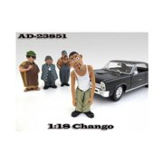 American Diorama 23851 Chango Homies Figurine for 1-18 Scale Diecast Model Cars