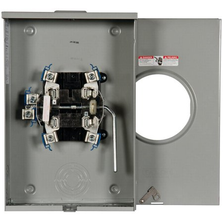 Siemens 40405-02MR Meter Socket, 200 A, 600 V, 1-Phase