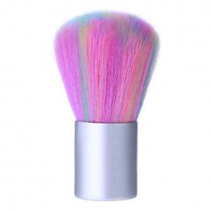 Fancyleo Colorful Brush Powder Brush Nail Arts Dust Cleaner Brush for Makeup or Nail Arts Manicure Dust Cleaner Remover Makeup Cosmetic Face Brush Cleaning Tool (Cala International Makeup)