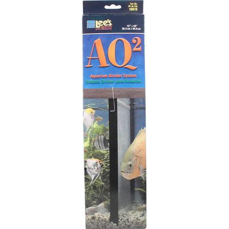 System 12 Aquarium Kit - Lee's Aquarium & Pet-Aquarium Divider System- Black 20h Gallon