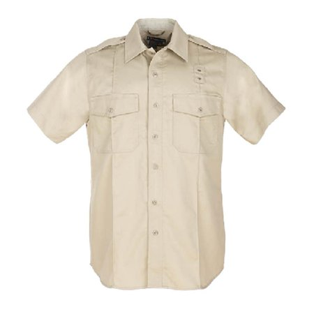 Image of 5.11 TACTICAL Men'S Pdu S/S Twill A-Class Shirt 3X-Large - Tall Silver Tan