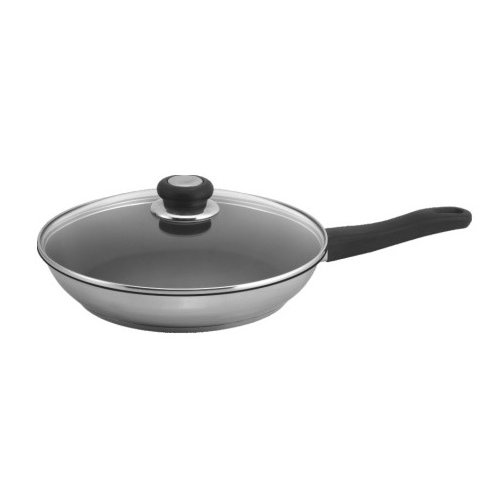 """Sunpentown 10"""" Stainless Fry Pan with Excalibur Coating by Sunpentown"""
