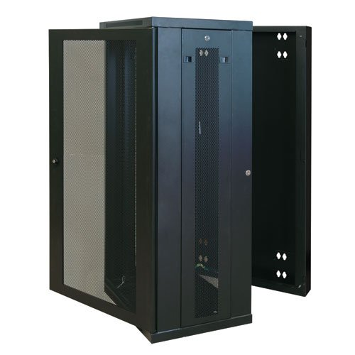 Tripp Lite SRW26US 26U Wall Mount Rack Enclosure Server Cabinet Door/Sides, Hinged