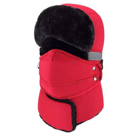 012ee5bcbc1 JOVIVI - Unisex Winter Ear Flap Trooper Hat