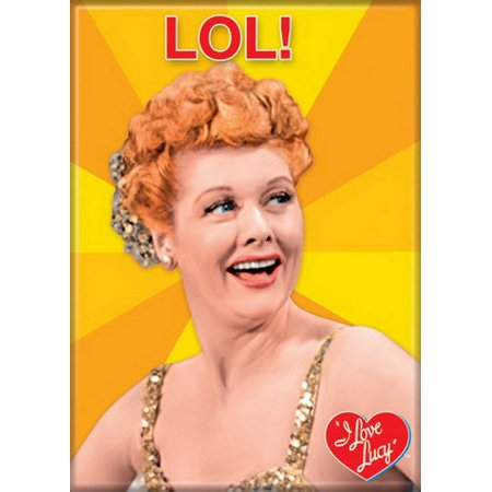 I Love Lucy Lol Magnet 20530Lu
