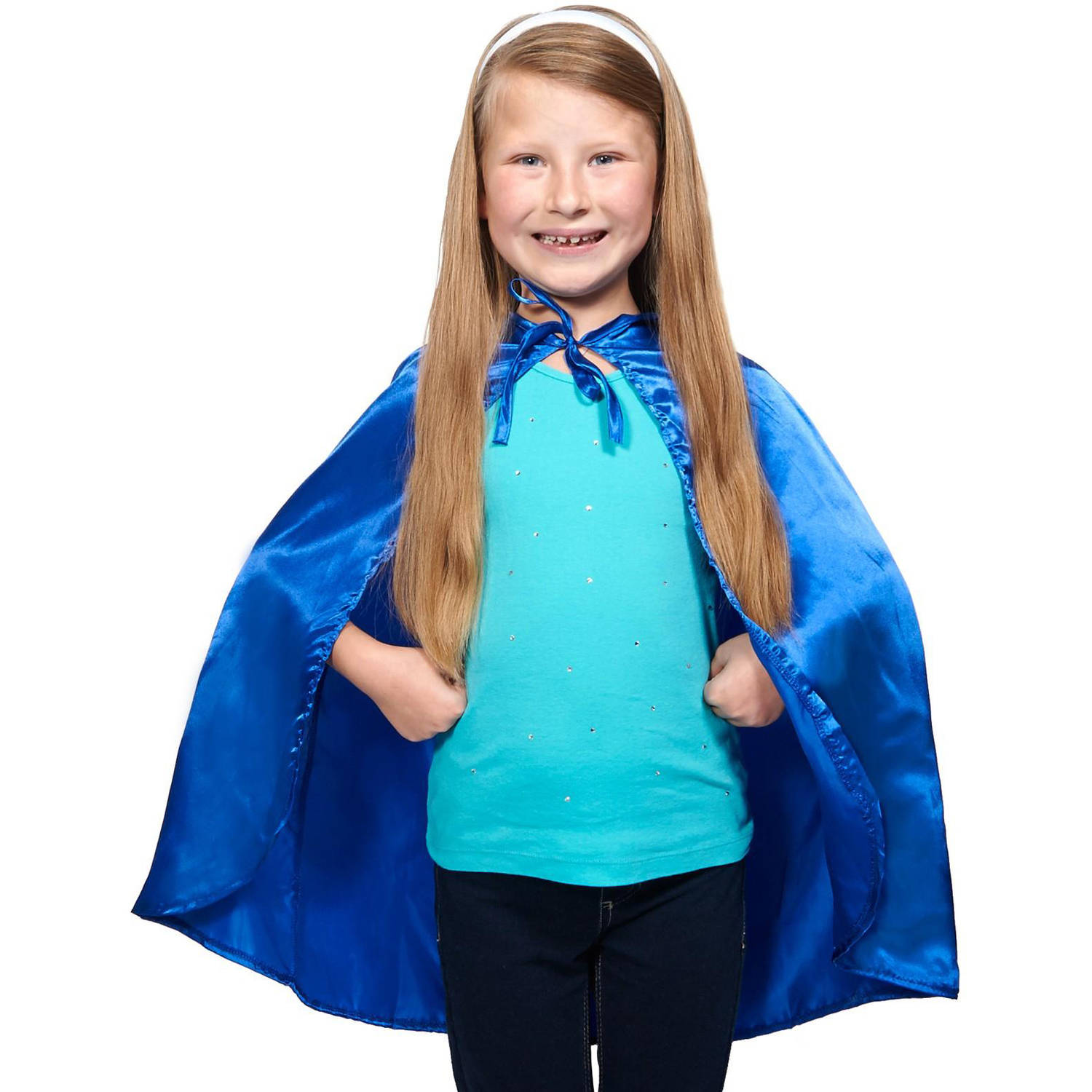 Blue Cape Halloween Accessory