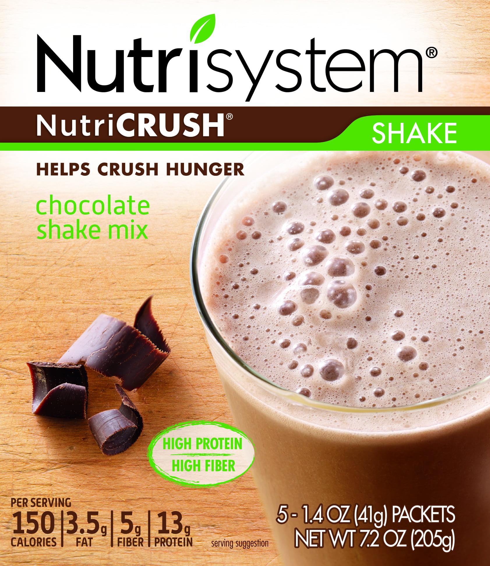 Nutrisystem NutriCrush Chocolate Shake