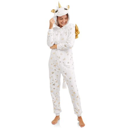 Jammers Women's and Women's Plus Unicorn Union Suit