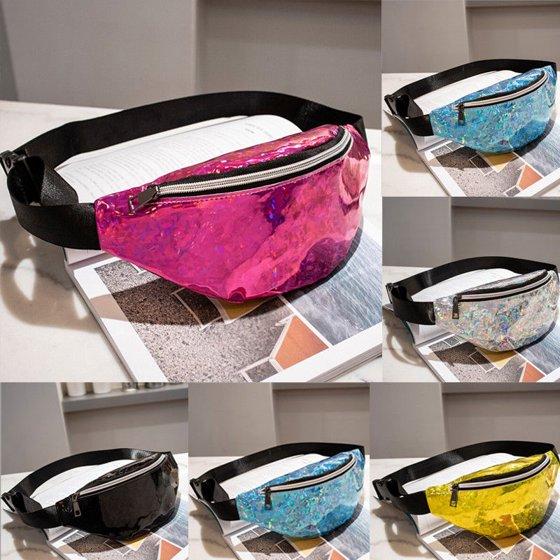 262fd3b766a Fashion Waist Fanny Pack Women PU Leather Belt Zipper Waist Bag Chest Tote  Purse