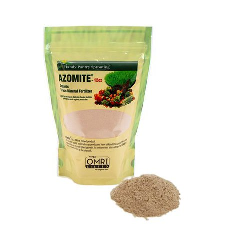 12 oz of azomite organic trace mineral soil additive for Soil minerals