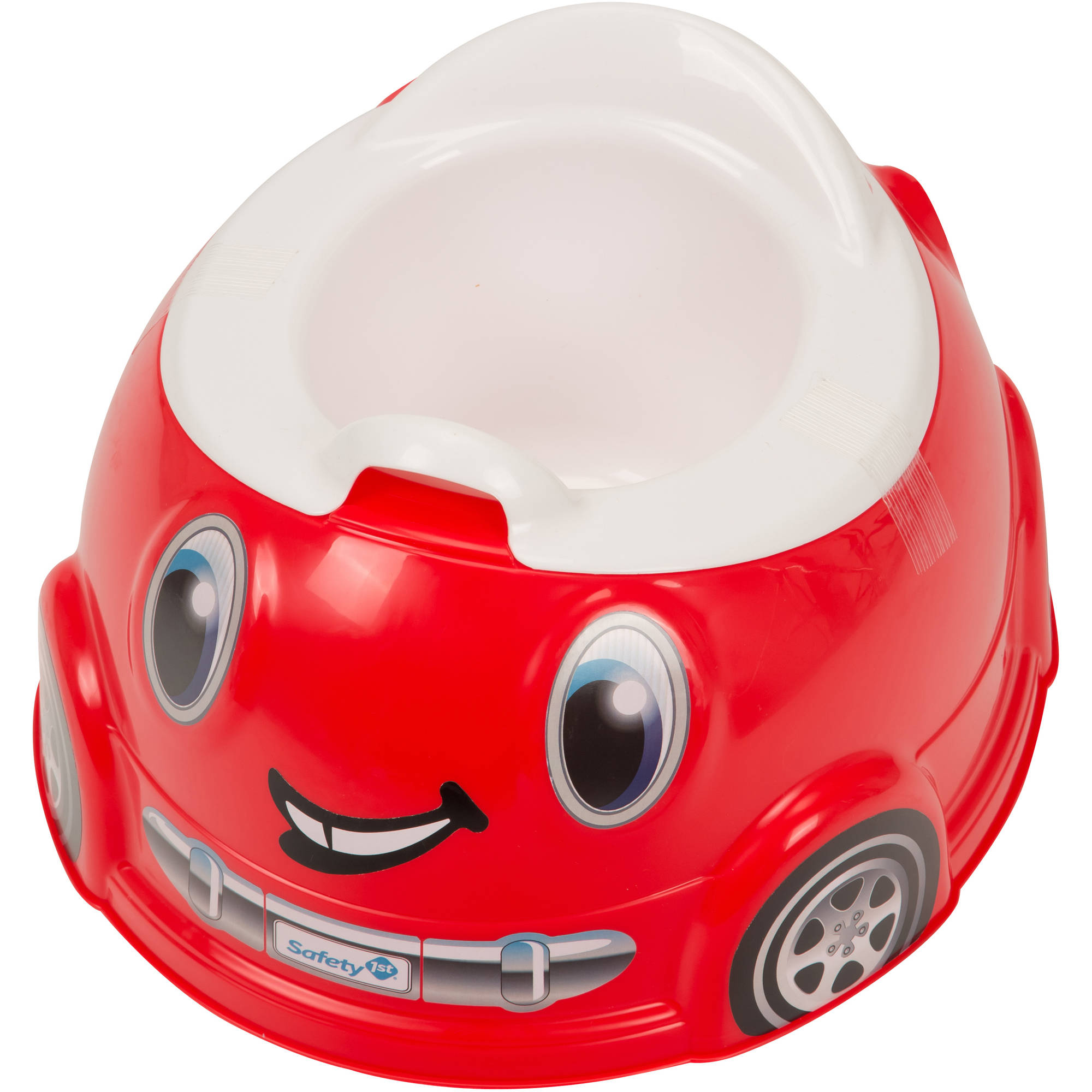 Safety 1st Fast and Finished Car Potty, Red