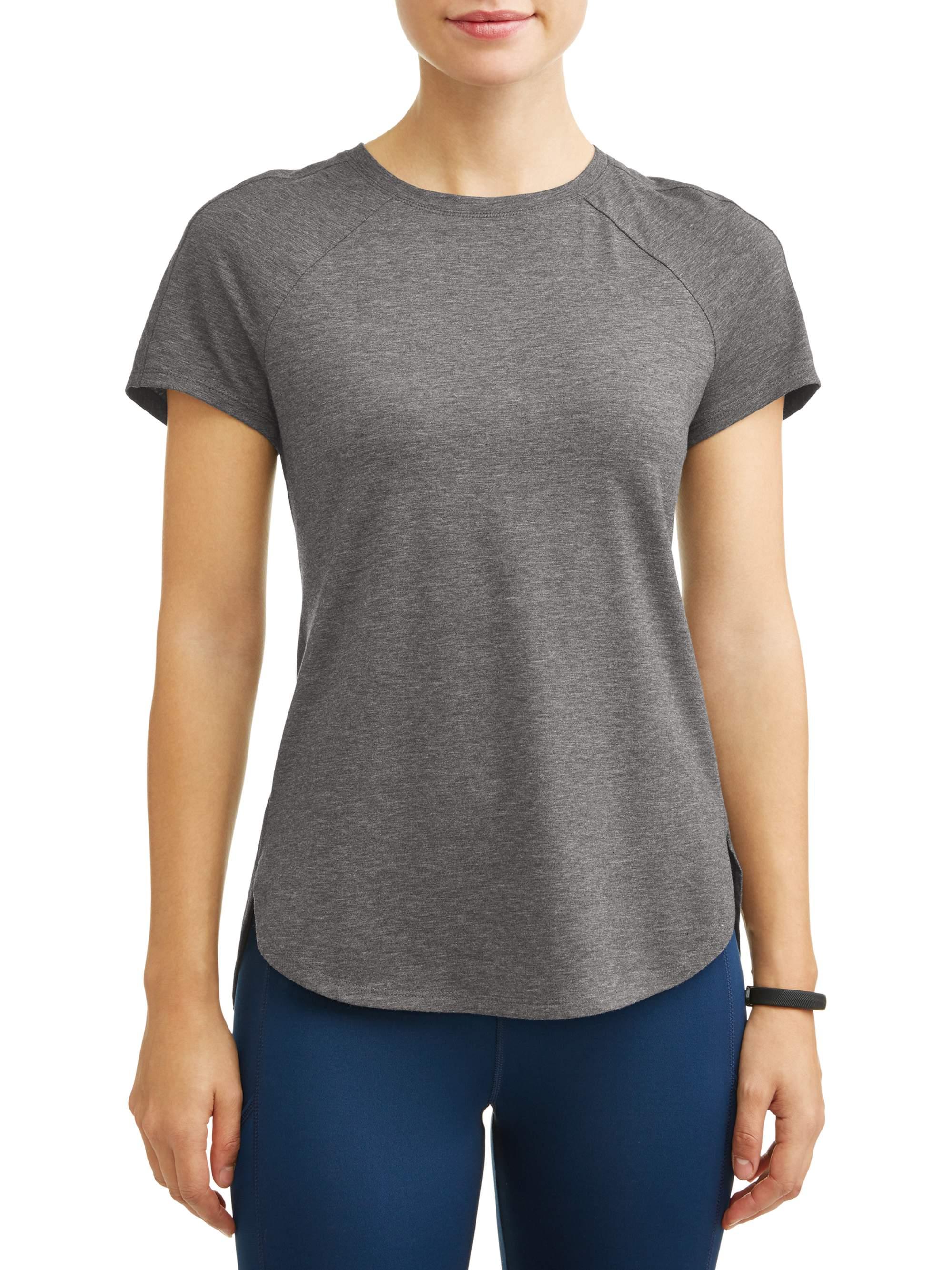 Women's Core Active Short Sleeve Tunic Length Performance T-Shirt