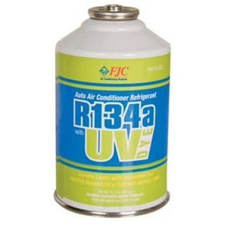 FJC  R134a Refrigerant with UV Dye.