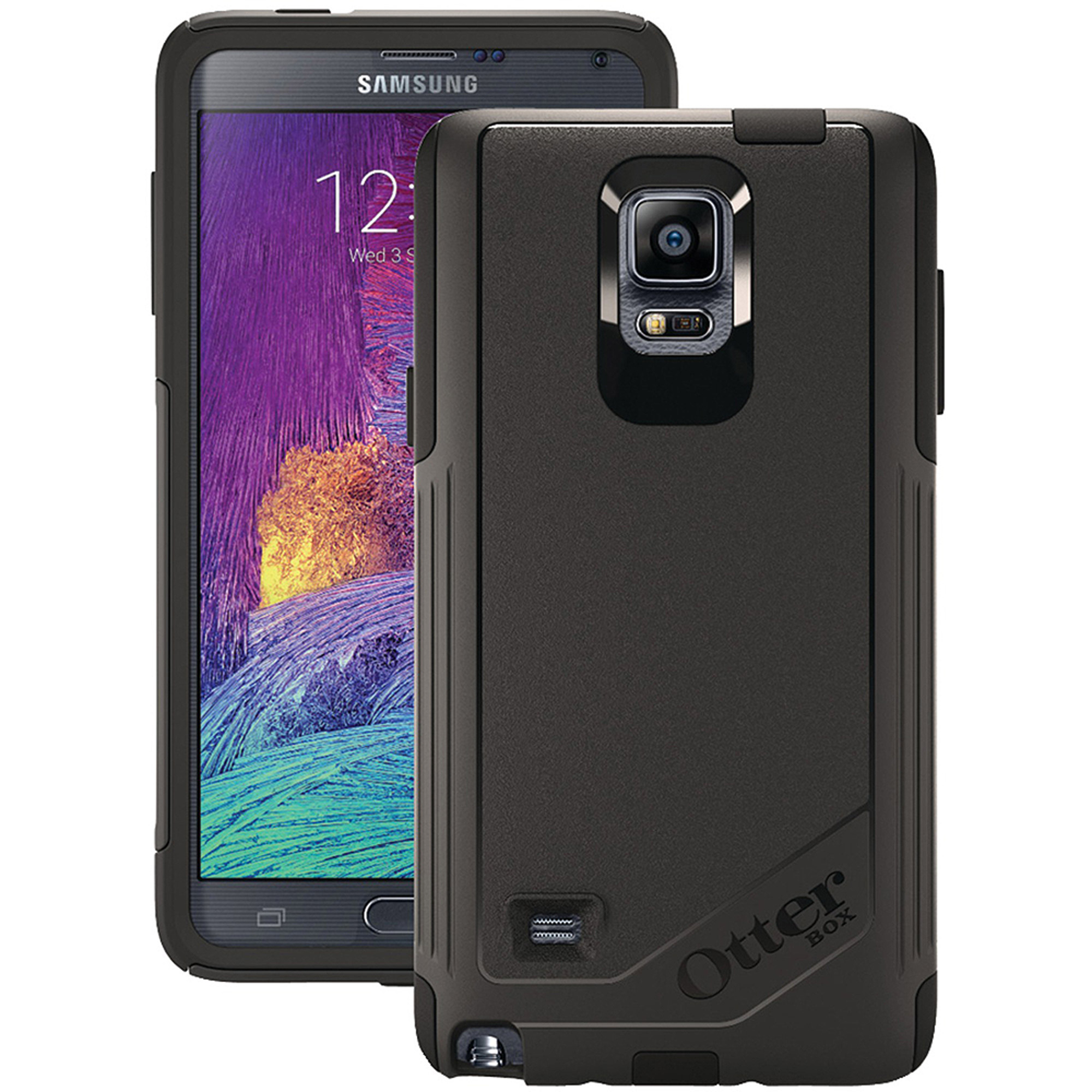 OtterBox Samsung Galaxy Note 4 Commuter Series Case, Black